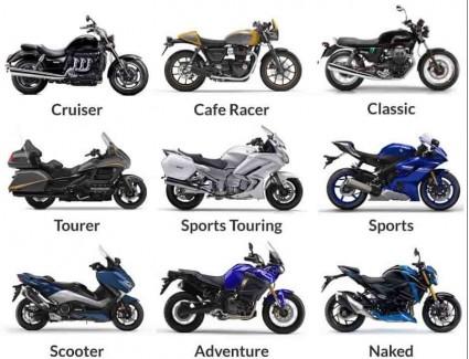 <Основные виды мотоциклов