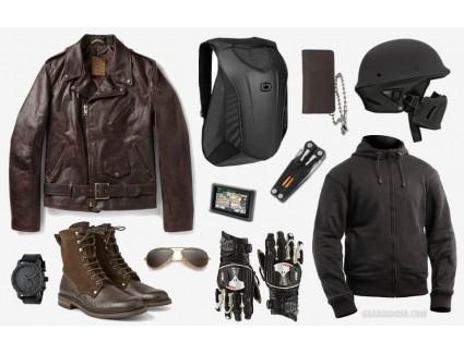 <Мотоциклетная мода на каждый день